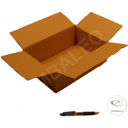 Single wall cardboard box 31 x 21.5 x 10 cm