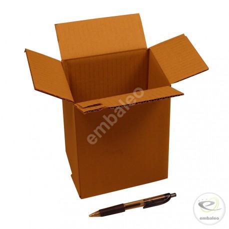 Single wall cardboard box 15 x 13 x 17 cm