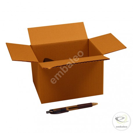 Single wall cardboard box 18 x 13 x 12 cm