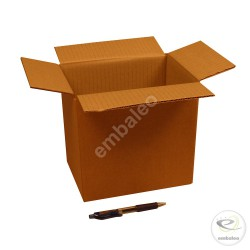 Single wall cardboard box 21.5 x 15 x 20.5 cm