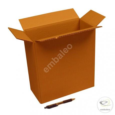 Single wall cardboard box 27 x 13 x 29 cm