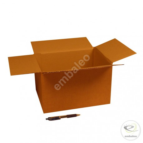 Single wall cardboard box 30 x 23 x 18 cm