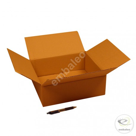 Single wall cardboard box 32 x 28 x 11 cm