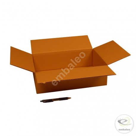 Single wall cardboard box 35 x 25 x 10 cm