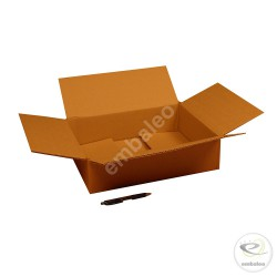 Single wall cardboard box 40 x 30 x 10 cm