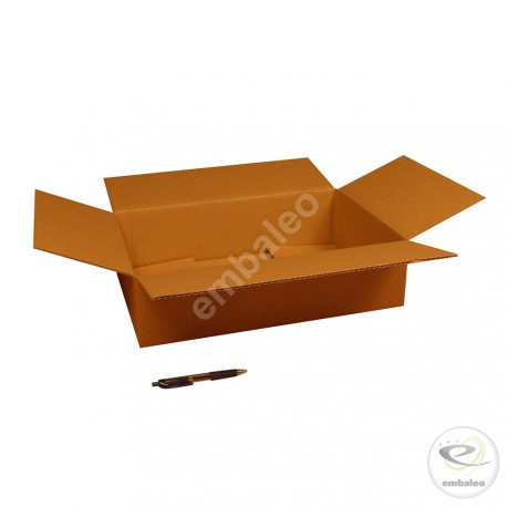 Single wall cardboard box 45 x 30 x 11,5 cm