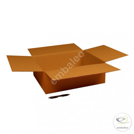 Single wall cardboard box 45 x 40 x 15 cm