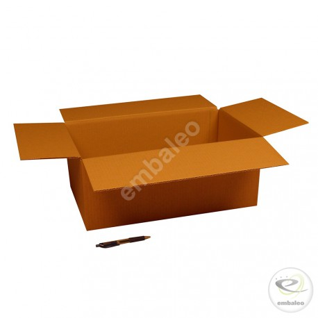 Single wall cardboard box 50 x 30 x 20 cm