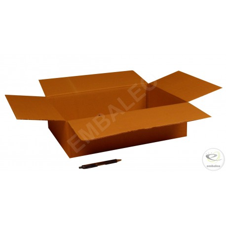 Single wall cardboard box 45 x 32 x 30 cm