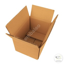 Double wall cardboard box 25 x 18 x 14 cm