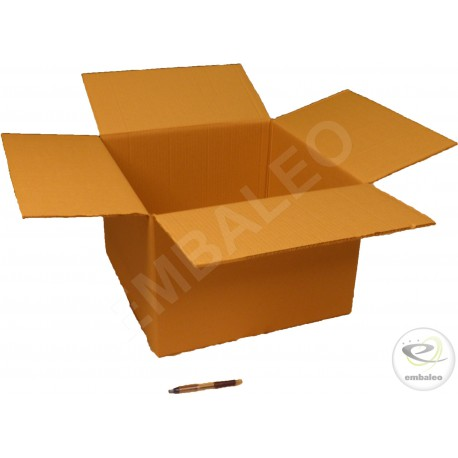 Double wall cardboard box 45 x 45 x 30 cm
