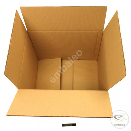 Double wall cardboard box 50 x 40 x 40 cm