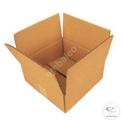Double wall cardboard box 25 x 25 x 10 cm
