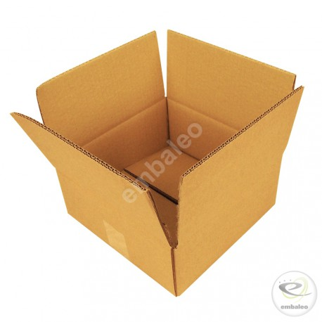 Double wall cardboard box 30 x 30 x 15 cm