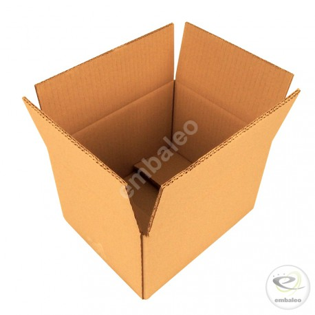 Double wall cardboard box 25 x 20 x 15 cm