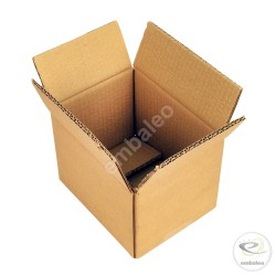 Double wall cardboard box 16 x 12 x 11 cm
