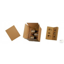 6 bottle box