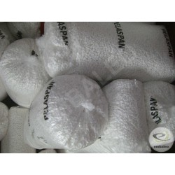 Organic polystyrene loose fill chips