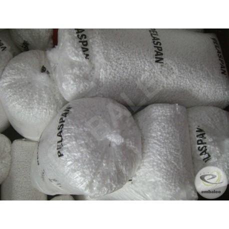 Organic polystyrene loose fill chips