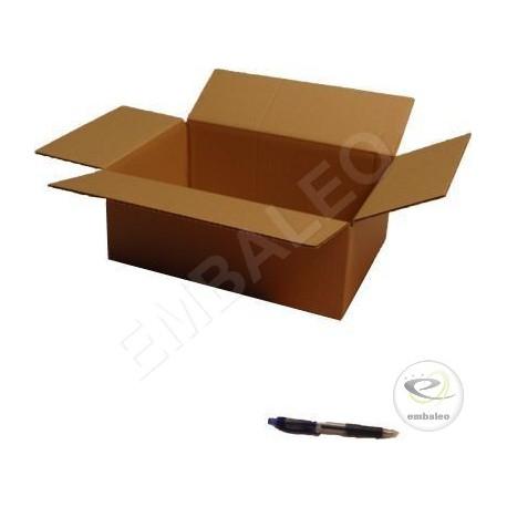 Single wall cardboard box 35,5 x 24 x 13 cm