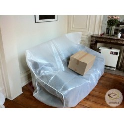 Protective sofa cover (bubble + foam)