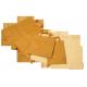 Brown kraft paper bag 20 x 10 x 28 cm with flat handles