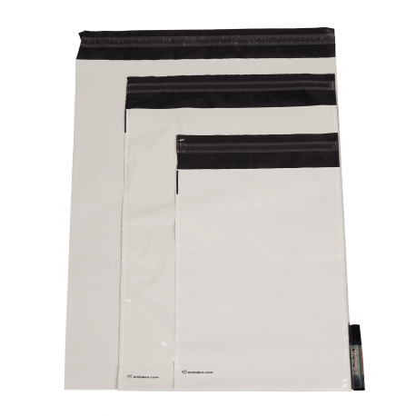 Embaleo gusseted opaque plastic mailing bag n°1 27,5 x 35 cm 60 µ