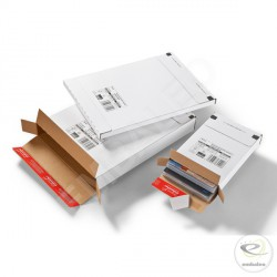 Flat cardboard box 26,2 x 37,4 x 2,9 cm