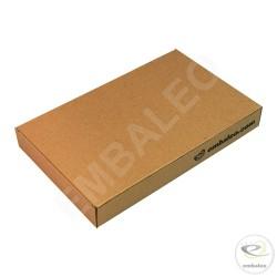 Flat cardboard box 14 x 22,5 x 3 cm