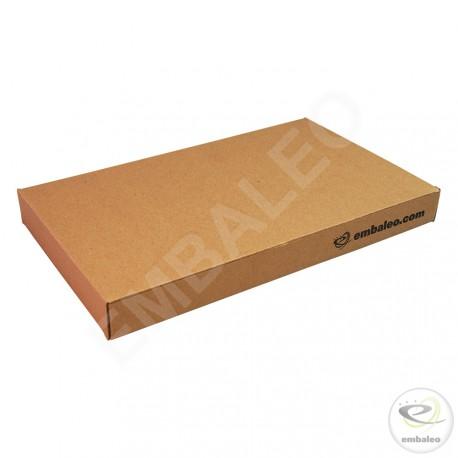 Flat cardboard box 17,5 x 28,5 x 3 cm