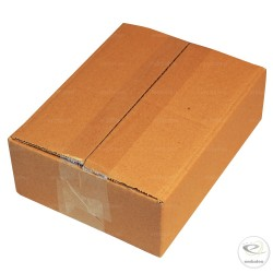 Single wall cardboard box 20 x 15 x 6 cm
