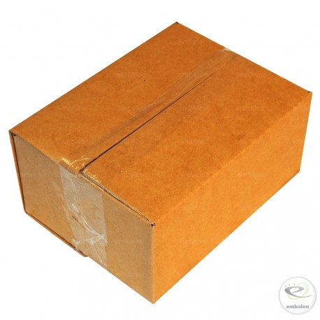 Single wall cardboard box 20 x 15 x 9 cm