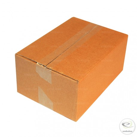 Single wall cardboard box 27 x 19 x 12 cm