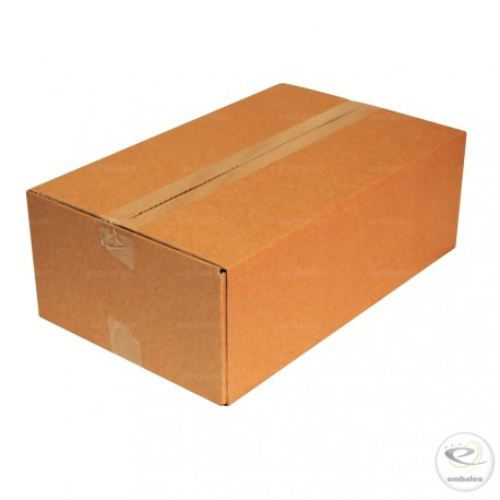 Single wall cardboard box 45 x 28 x 15 cm
