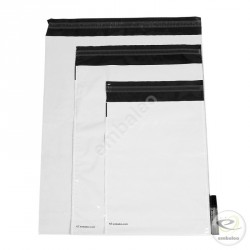 Embaleo gusseted opaque plastic mailing bag n°2 36,5 x 46 cm 60 µ