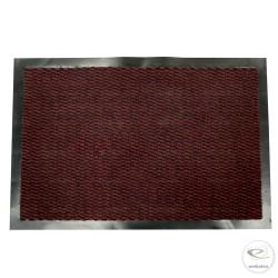 Dust control mat 60 x 90 cm - Burgundy doormat