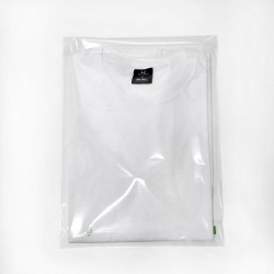 Clear polypropylene mailing bag 30 x 40 cm