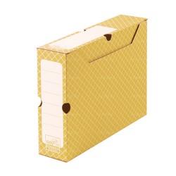 Orange archive box 32,2 x 9,5 x 24,9 cm