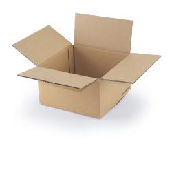 Single wall cardboard box 20 x 20 x 11 cm