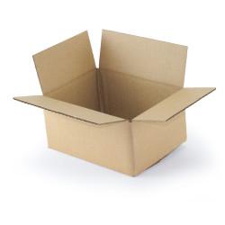 Single wall cardboard box 20 x 15 x 9 cm