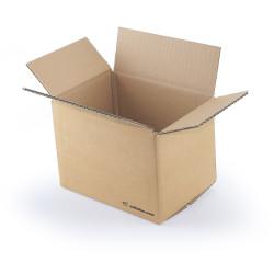 Single wall cardboard box 20 x 14 x 14 cm