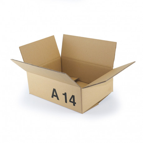 Caisse Carton GALIA A14 40x30x15 cm