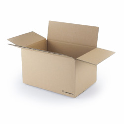 Single wall cardboard box 30 x 20 x 17 cm