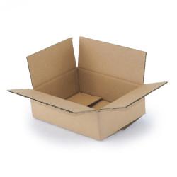 Single wall cardboard box 20 x 15 x 6 cm