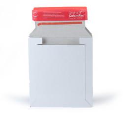 White cardboard envelope 16 x 17,5 cm for CD