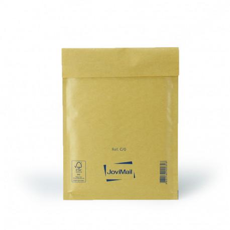 Enveloppe bulle marron C Mail Lite Gold 15x21cm