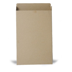 Flat cardboard box 21,5 x 32,5 x 3 cm