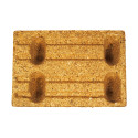 Moulded wood pallets